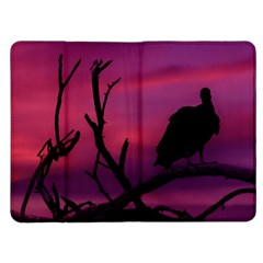 Vultures At Top Of Tree Silhouette Illustration Kindle Fire (1st Gen) Flip Case