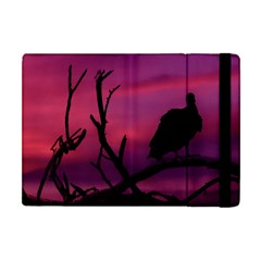 Vultures At Top Of Tree Silhouette Illustration Apple iPad Mini Flip Case