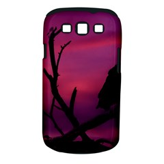 Vultures At Top Of Tree Silhouette Illustration Samsung Galaxy S Iii Classic Hardshell Case (pc+silicone)