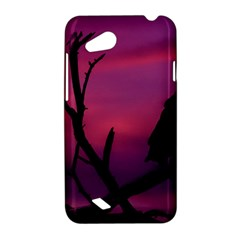 Vultures At Top Of Tree Silhouette Illustration HTC Desire VC (T328D) Hardshell Case
