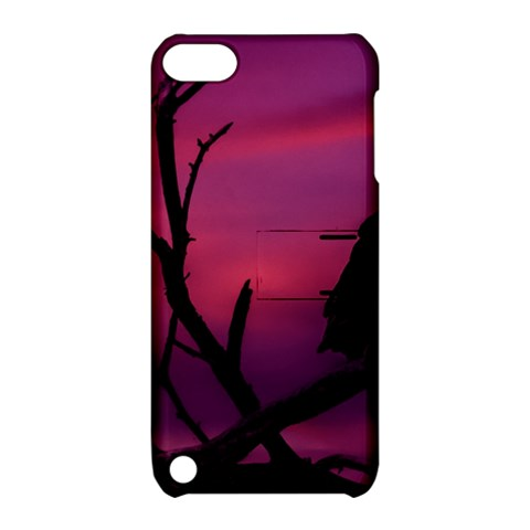 Vultures At Top Of Tree Silhouette Illustration Apple iPod Touch 5 Hardshell Case with Stand