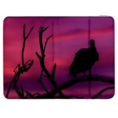 Vultures At Top Of Tree Silhouette Illustration Samsung Galaxy Tab 7  P1000 Flip Case