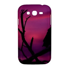 Vultures At Top Of Tree Silhouette Illustration Samsung Galaxy Grand DUOS I9082 Hardshell Case