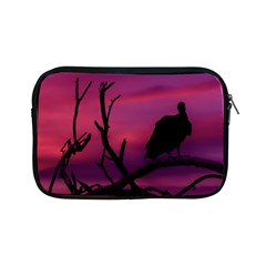 Vultures At Top Of Tree Silhouette Illustration Apple iPad Mini Zipper Cases