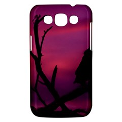 Vultures At Top Of Tree Silhouette Illustration Samsung Galaxy Win I8550 Hardshell Case