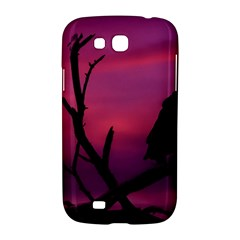Vultures At Top Of Tree Silhouette Illustration Samsung Galaxy Grand GT-I9128 Hardshell Case