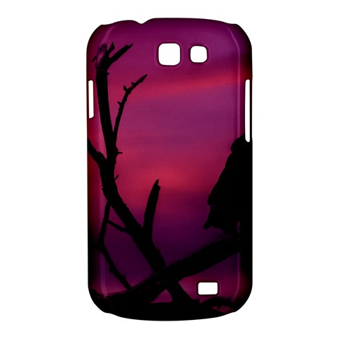 Vultures At Top Of Tree Silhouette Illustration Samsung Galaxy Express I8730 Hardshell Case