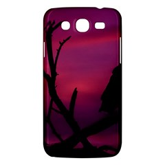 Vultures At Top Of Tree Silhouette Illustration Samsung Galaxy Mega 5.8 I9152 Hardshell Case