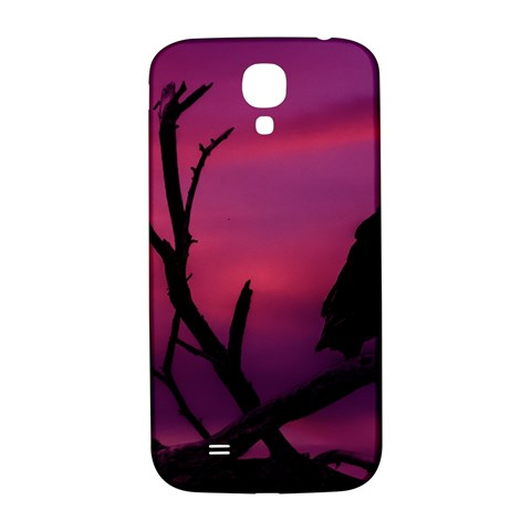 Vultures At Top Of Tree Silhouette Illustration Samsung Galaxy S4 I9500/I9505  Hardshell Back Case