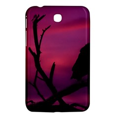 Vultures At Top Of Tree Silhouette Illustration Samsung Galaxy Tab 3 (7 ) P3200 Hardshell Case