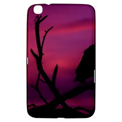 Vultures At Top Of Tree Silhouette Illustration Samsung Galaxy Tab 3 (8 ) T3100 Hardshell Case