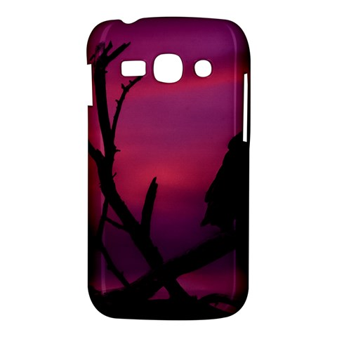 Vultures At Top Of Tree Silhouette Illustration Samsung Galaxy Ace 3 S7272 Hardshell Case