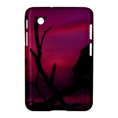 Vultures At Top Of Tree Silhouette Illustration Samsung Galaxy Tab 2 (7 ) P3100 Hardshell Case