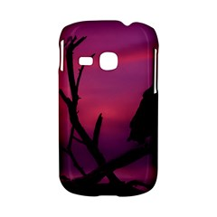 Vultures At Top Of Tree Silhouette Illustration Samsung Galaxy S6310 Hardshell Case