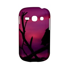 Vultures At Top Of Tree Silhouette Illustration Samsung Galaxy S6810 Hardshell Case