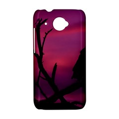 Vultures At Top Of Tree Silhouette Illustration HTC Desire 601 Hardshell Case