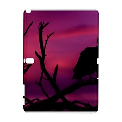 Vultures At Top Of Tree Silhouette Illustration Samsung Galaxy Note 10.1 (P600) Hardshell Case