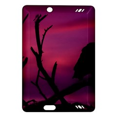 Vultures At Top Of Tree Silhouette Illustration Amazon Kindle Fire HD (2013) Hardshell Case