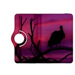 Vultures At Top Of Tree Silhouette Illustration Kindle Fire HDX 8.9  Flip 360 Case Front