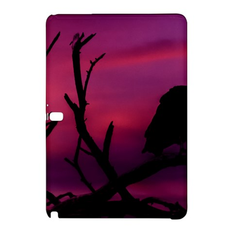 Vultures At Top Of Tree Silhouette Illustration Samsung Galaxy Tab Pro 10.1 Hardshell Case