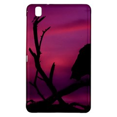 Vultures At Top Of Tree Silhouette Illustration Samsung Galaxy Tab Pro 8 4 Hardshell Case