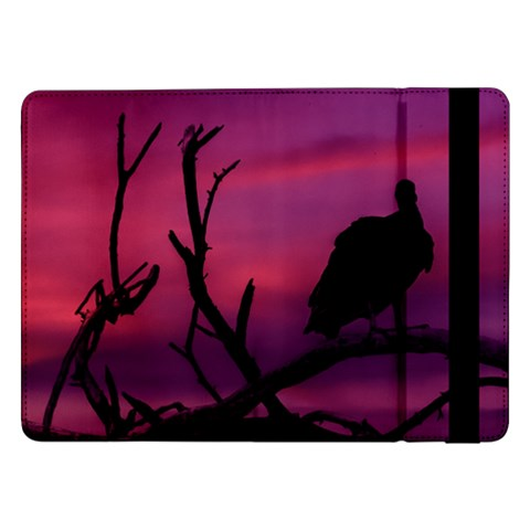 Vultures At Top Of Tree Silhouette Illustration Samsung Galaxy Tab Pro 12.2  Flip Case