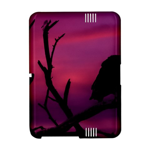 Vultures At Top Of Tree Silhouette Illustration Amazon Kindle Fire (2012) Hardshell Case