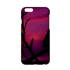 Vultures At Top Of Tree Silhouette Illustration Apple Iphone 6/6s Hardshell Case