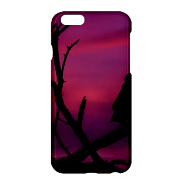 Vultures At Top Of Tree Silhouette Illustration Apple iPhone 6 Plus/6S Plus Hardshell Case