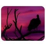 Vultures At Top Of Tree Silhouette Illustration Double Sided Flano Blanket (Medium)  60 x50 Blanket Back
