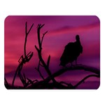 Vultures At Top Of Tree Silhouette Illustration Double Sided Flano Blanket (Large)   Blanket Back