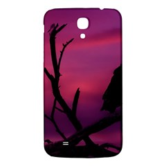 Vultures At Top Of Tree Silhouette Illustration Samsung Galaxy Mega I9200 Hardshell Back Case