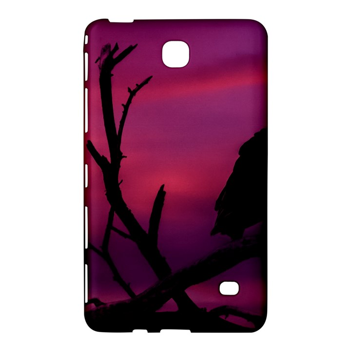 Vultures At Top Of Tree Silhouette Illustration Samsung Galaxy Tab 4 (8 ) Hardshell Case