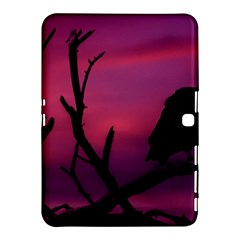 Vultures At Top Of Tree Silhouette Illustration Samsung Galaxy Tab 4 (10 1 ) Hardshell Case