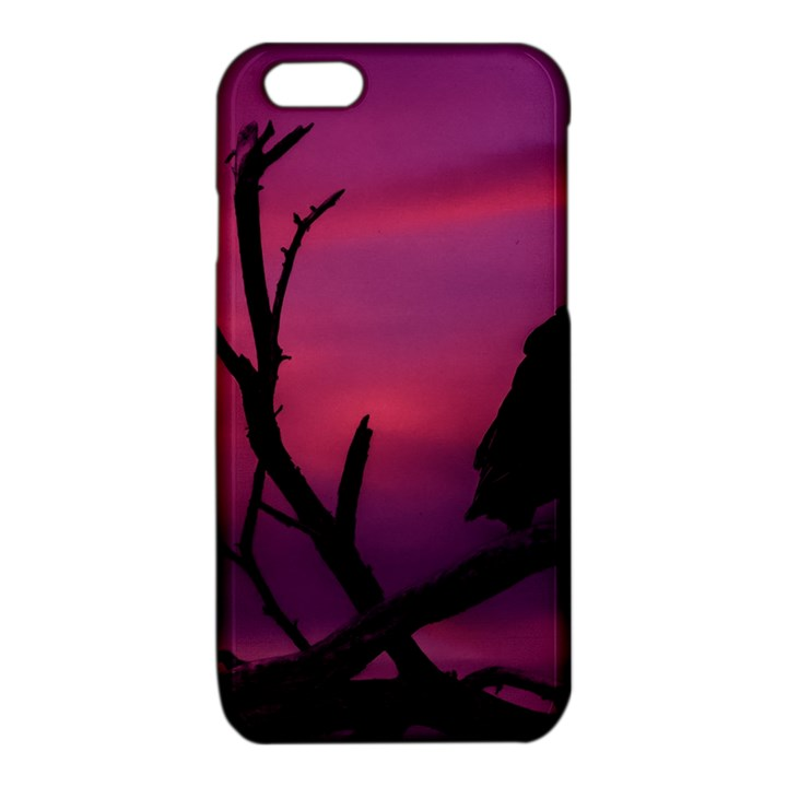 Vultures At Top Of Tree Silhouette Illustration iPhone 6/6S TPU Case