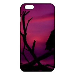 Vultures At Top Of Tree Silhouette Illustration iPhone 6 Plus/6S Plus TPU Case