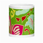 Green Organic Abstract Morph Mugs Center