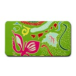 Green Organic Abstract Medium Bar Mats 16 x8.5 Bar Mat - 1
