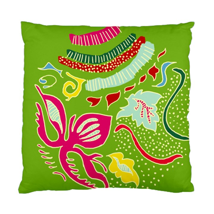Green Organic Abstract Standard Cushion Case (One Side)