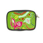 Green Organic Abstract Coin Purse Back