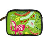 Green Organic Abstract Digital Camera Cases Front