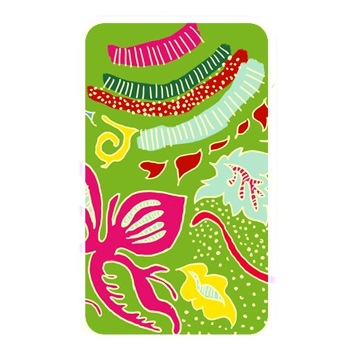 Green Organic Abstract Memory Card Reader