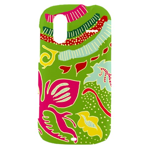 Green Organic Abstract HTC Amaze 4G Hardshell Case