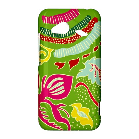 Green Organic Abstract HTC Droid Incredible 4G LTE Hardshell Case