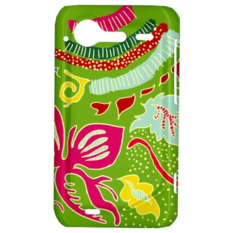 Green Organic Abstract HTC Incredible S Hardshell Case