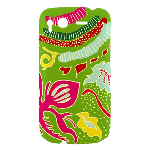 Green Organic Abstract HTC Desire S Hardshell Case