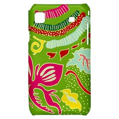 Green Organic Abstract Samsung Galaxy S i9000 Hardshell Case
