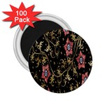 Floral Pattern Background 2.25  Magnets (100 pack)  Front