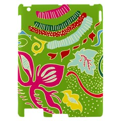 Green Organic Abstract Apple iPad 2 Hardshell Case