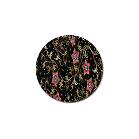 Floral Pattern Background Golf Ball Marker (10 pack)